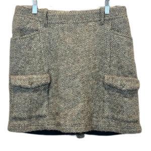 5/$35 Eddie Bauer Wool Skirt - 8